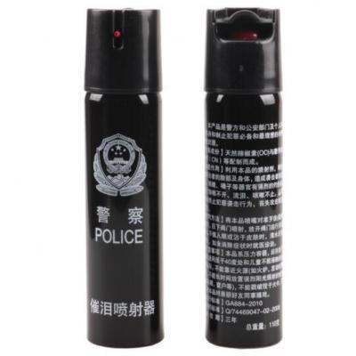 警用110毫升辣椒水 防狼喷雾器